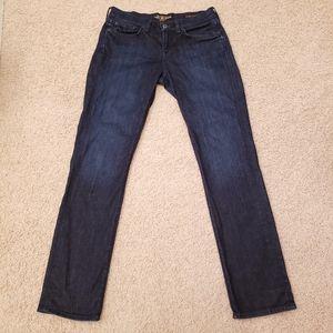 Lucky Brand Sweet Straight Jeans Dark Wash Size 29